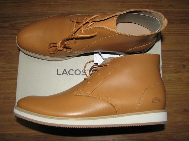 Ботинки Lacoste Millard 316 1, оригинал. 42р., фото №4