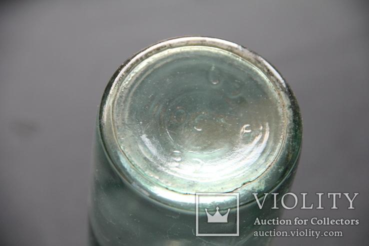 Бутылка из под молока с пробкой. СССР,, фото №5