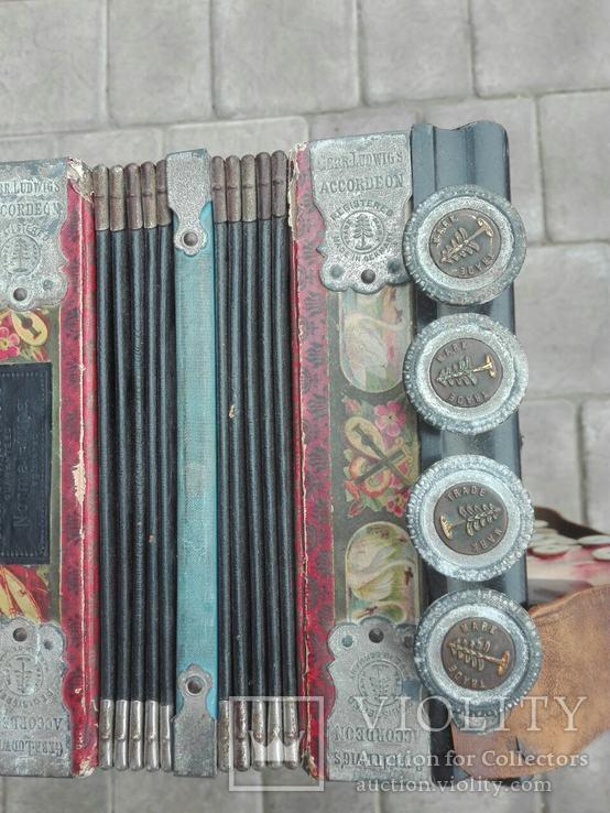 Німецький аккордеон Gebe Ludwig's, фото №4