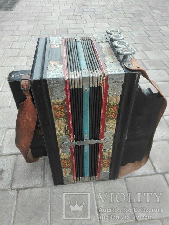 Німецький аккордеон Gebe Ludwig's, фото №6