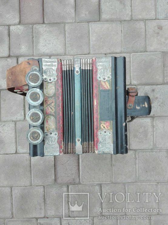 Німецький аккордеон Gebe Ludwig's, фото №7