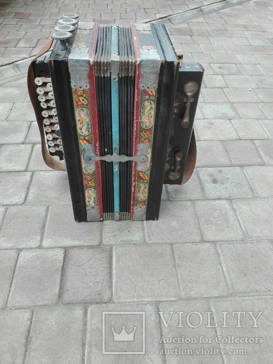 Німецький аккордеон Gebe Ludwig's, фото №9