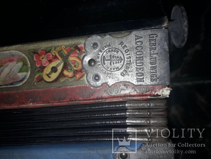 Німецький аккордеон Gebe Ludwig's, фото №10