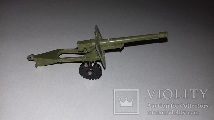 Игрушка СССР Военная техника Пушка полевая