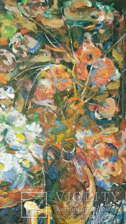 """""""Квіти поля"""",Д.А.Шайнога,м.Тернопіль,102×65 см., фото №3"""