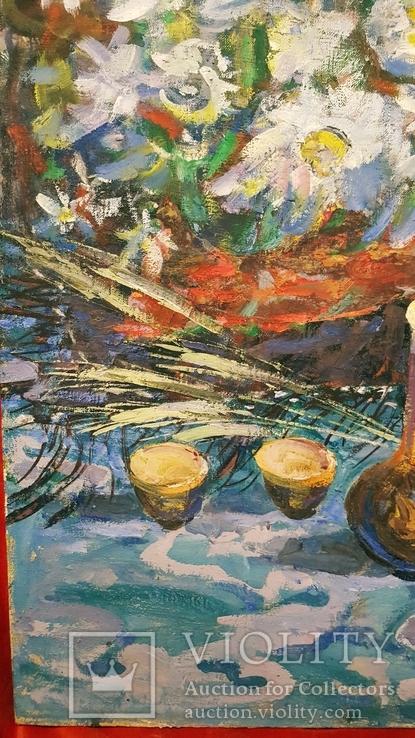 """""""Квіти поля"""",Д.А.Шайнога,м.Тернопіль,102×65 см., фото №5"""