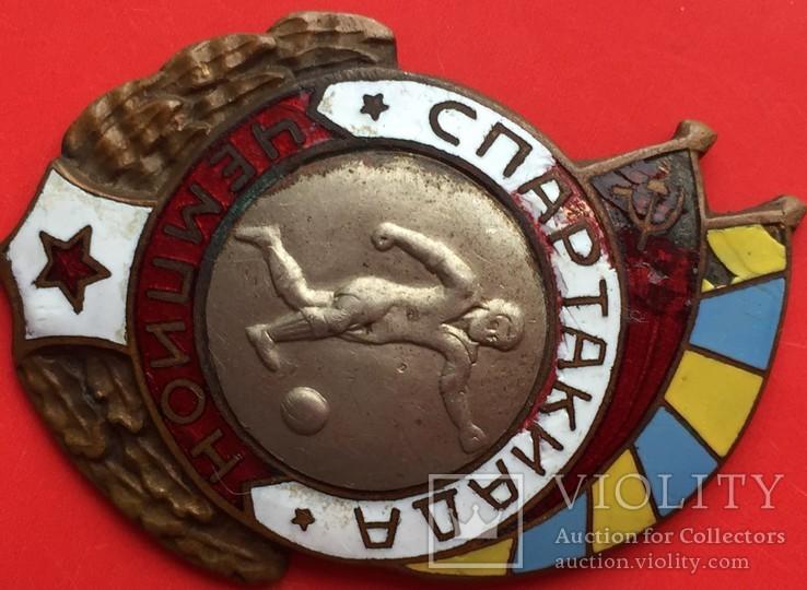 Знак чемпион по футболу спартакиады Военно-Воздушных Сил, фото №3
