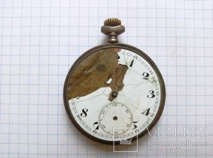 Механизм к старым карманным часам, фото №2