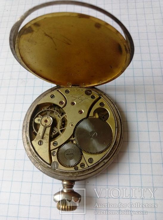 Механизм к старым карманным часам, фото №4