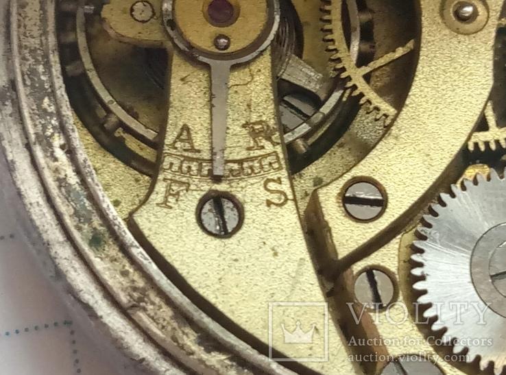 Механизм к старым карманным часам, фото №8