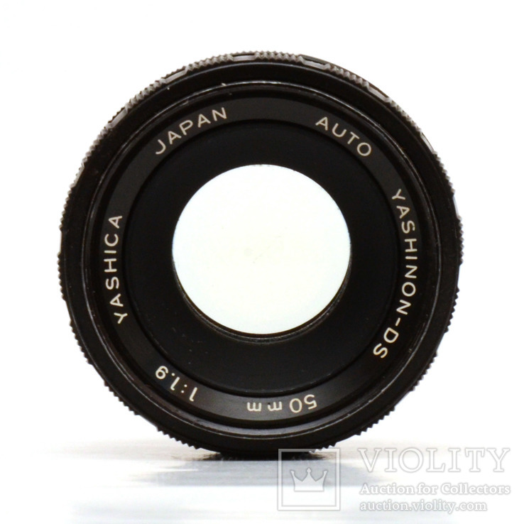 Объектив Yashica Auto Yashinon-DS 50mm F1.9, фото №3