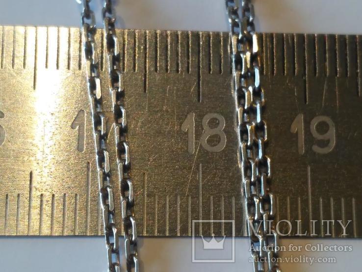 Цепочка + кулон 1 серебро, фото №6