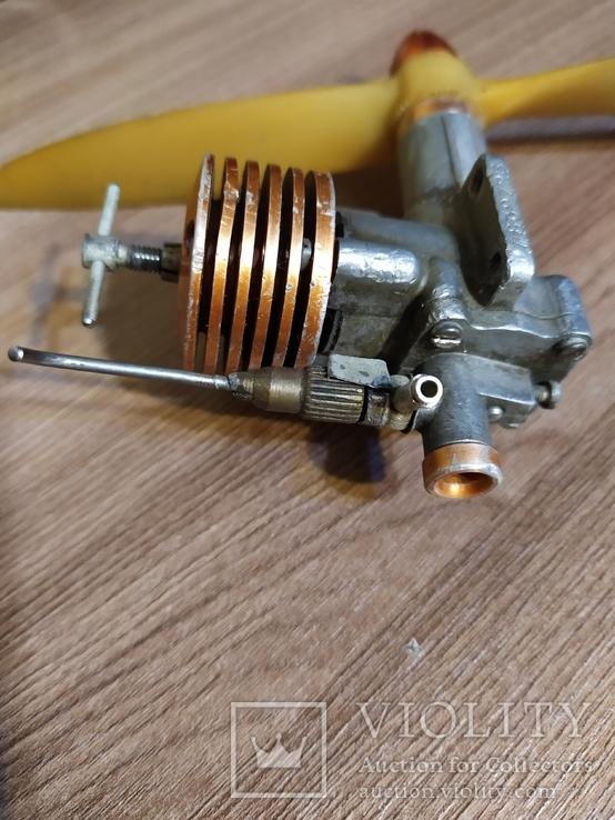 Микродвигатель МК-17 для авиамодели, фото №5