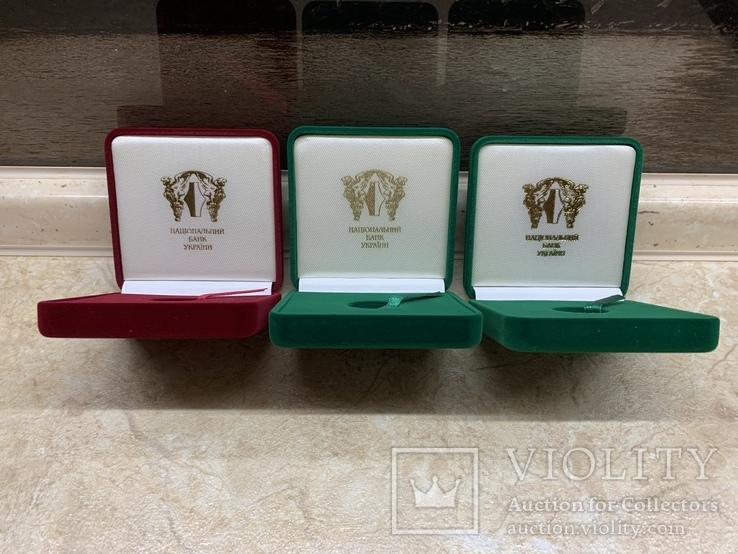 Три коробочки для монет Украины, фото №3