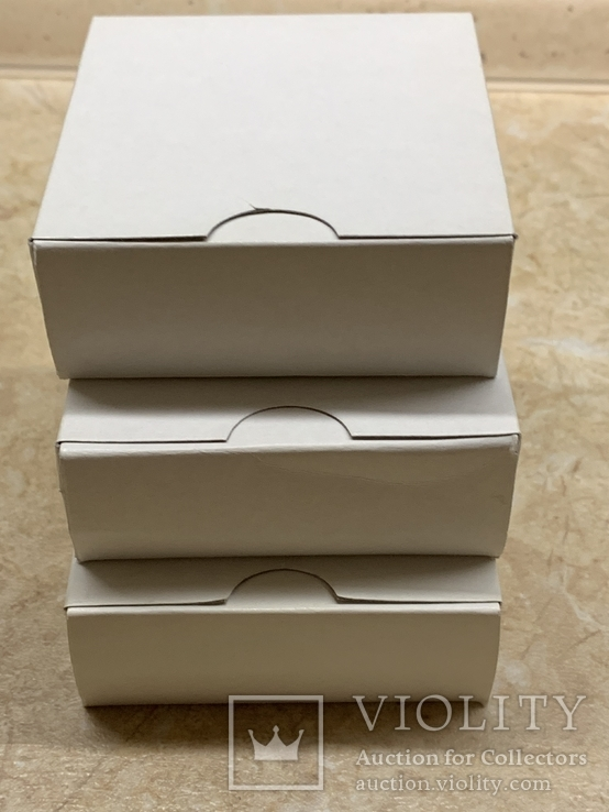 Три коробочки для монет Украины, фото №6