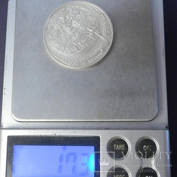 10 євро Австрія 2007 Абатство Мельк, срібло, фото №4