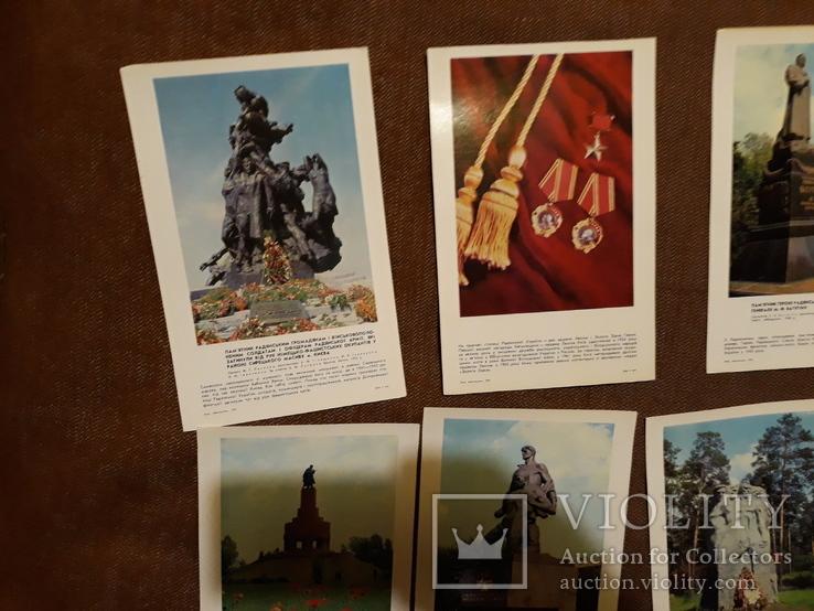 Місто герой Київ, полный комплект открыток, большой формат, фото №7