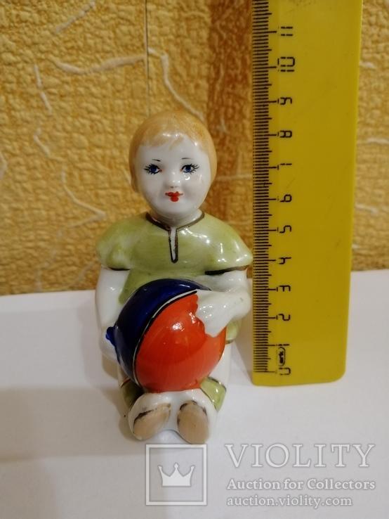 статуэтка девочка с мячом ссср, фото №7