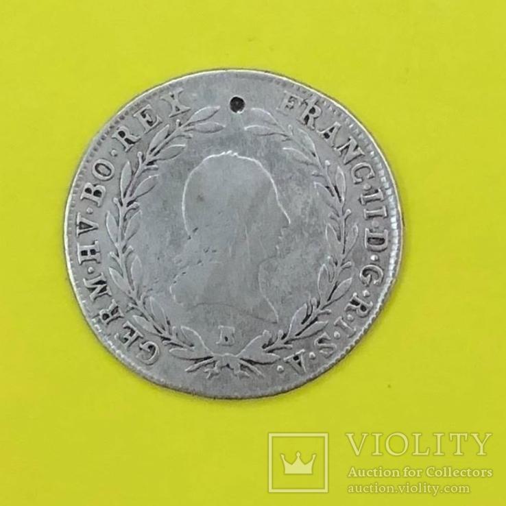 20 Крейцерів  1803р. Срібло., фото №2