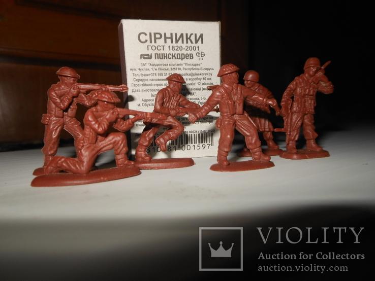 6 солдатиков, фото №2