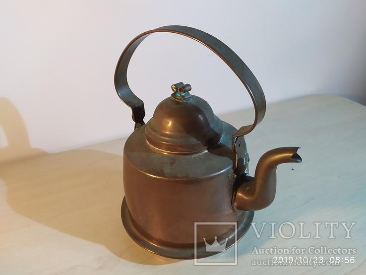Медный чайник, фото №3