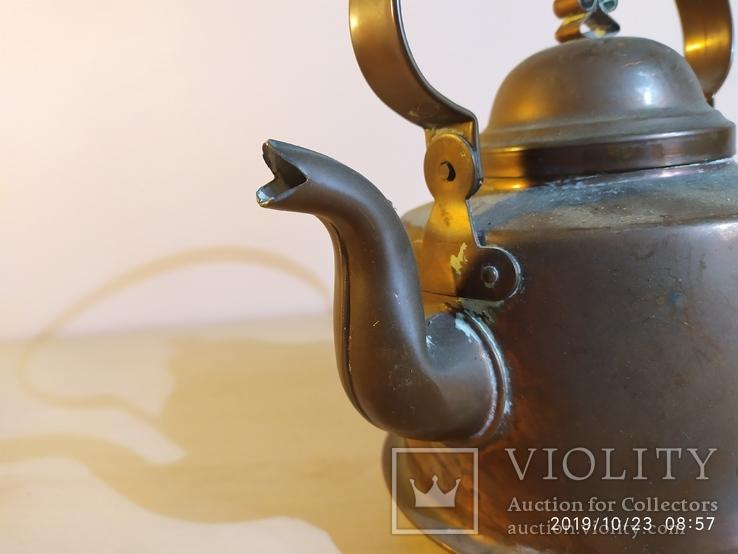 Медный чайник, фото №7