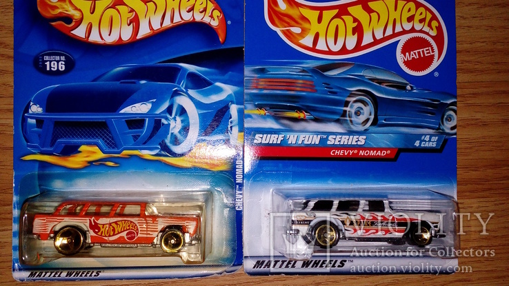 Машинка Хот Вилс Hot Wheels  Nomad 2 шт Цветовая гамма
