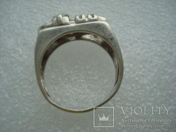 Кольцо серебро 925 18 размер, фото №5