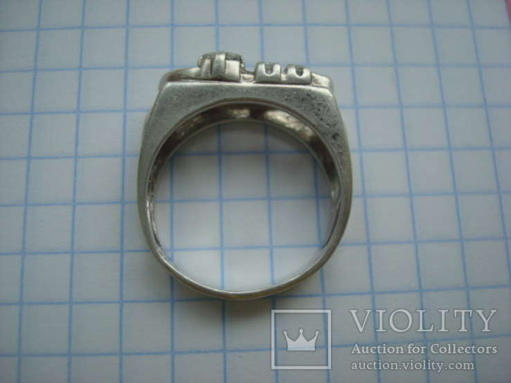 Кольцо серебро 925 18 размер, фото №7