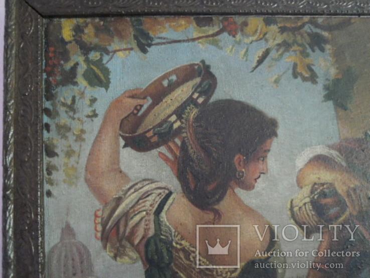 Картина.копия-октябрьский праздник в риме, фото №3
