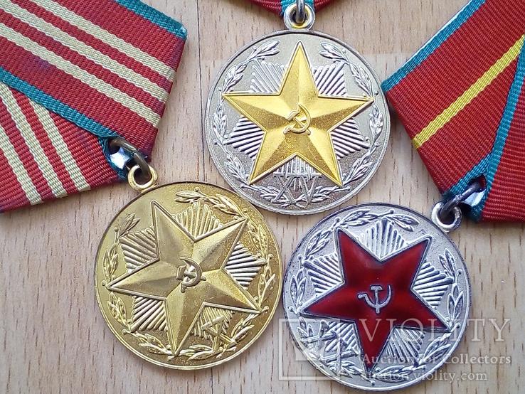 Выслуга КГБ 10,15,20 лет, фото №3