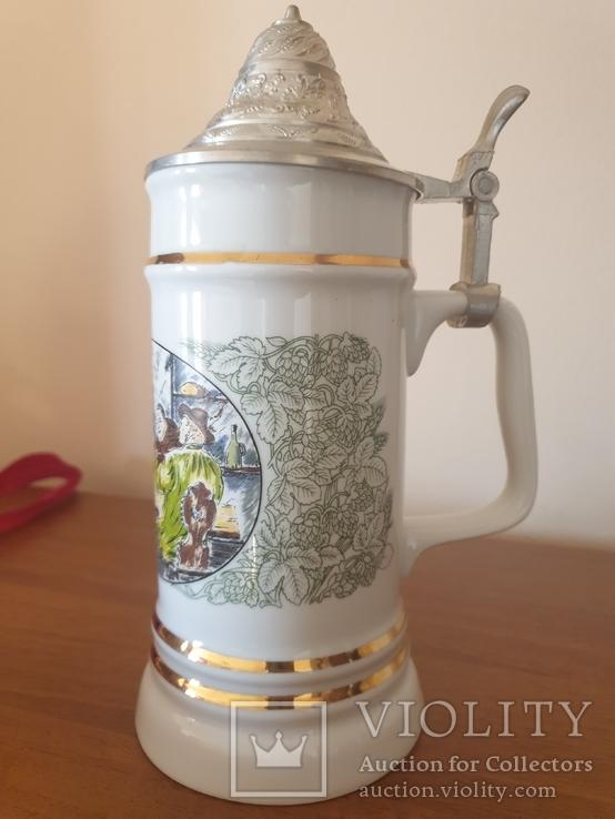 Пивной бокал, пивная кружка, фото №3