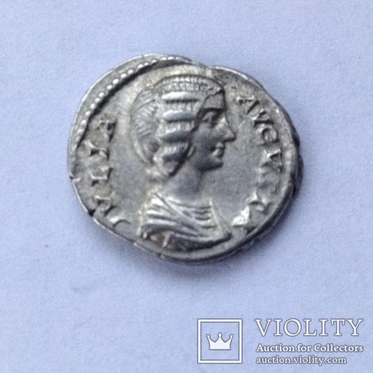 -Римська імперія денарий Юлия Домна, фото №2