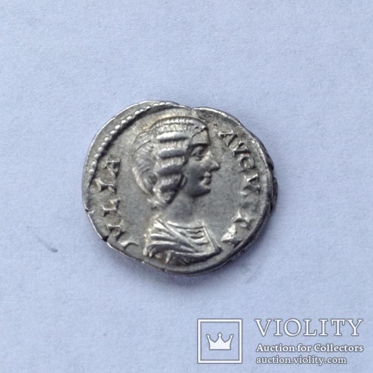 -Римська імперія денарий Юлия Домна, фото №3
