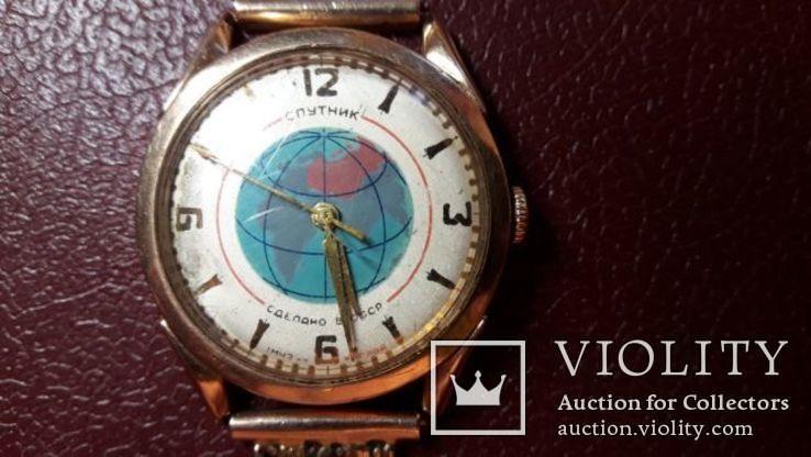 Золотые мужские часы  СССР, фото №4