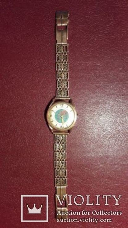 Золотые мужские часы  СССР, фото №5