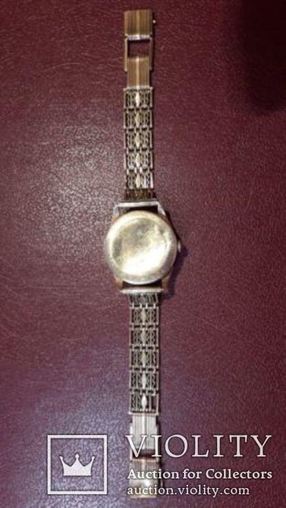 Золотые мужские часы  СССР, фото №7