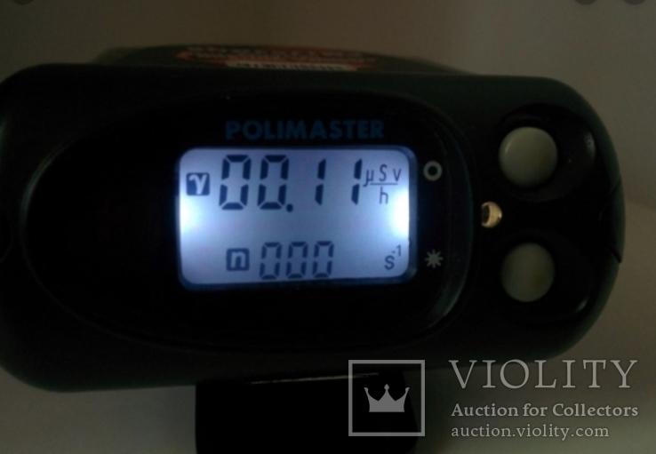 Сцинтилятор Polimaster ИСП-PM1703GNA Радиационный пейджер Дозиметр ФБР RADIATION PAGER, фото №9