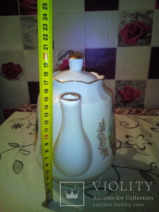 Фарфоровый чайник редкость клеймо., фото №6