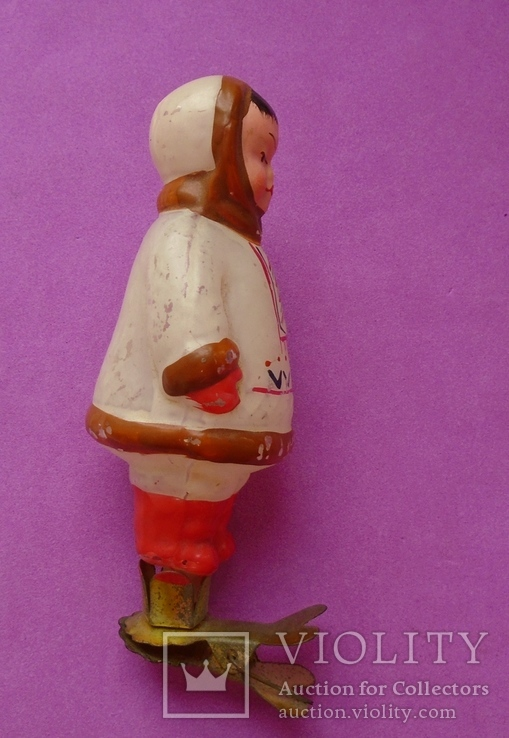 Эскимос. Елочная игрушка., фото №4
