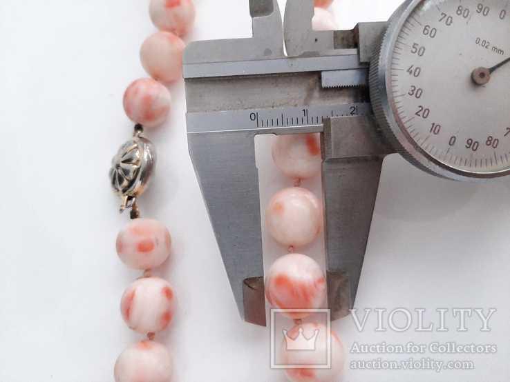 Бусы Коралл Angel skin вес 106 гр, фото №9