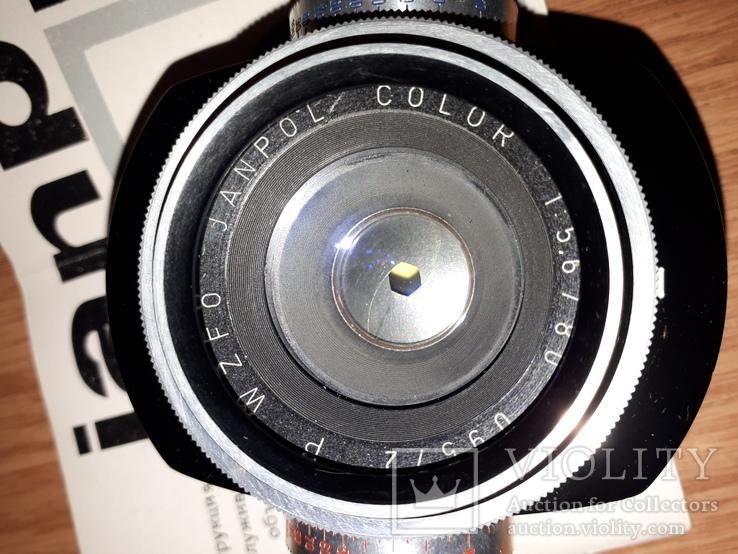 Oбъектив janpol color 1:5,6/80 с документами., фото №3