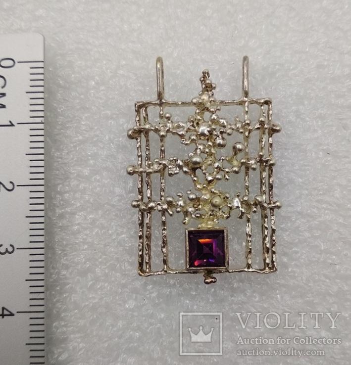 Кулон серебро 835 Kordes & Lichtenfels 50 - 60 е, фото №3