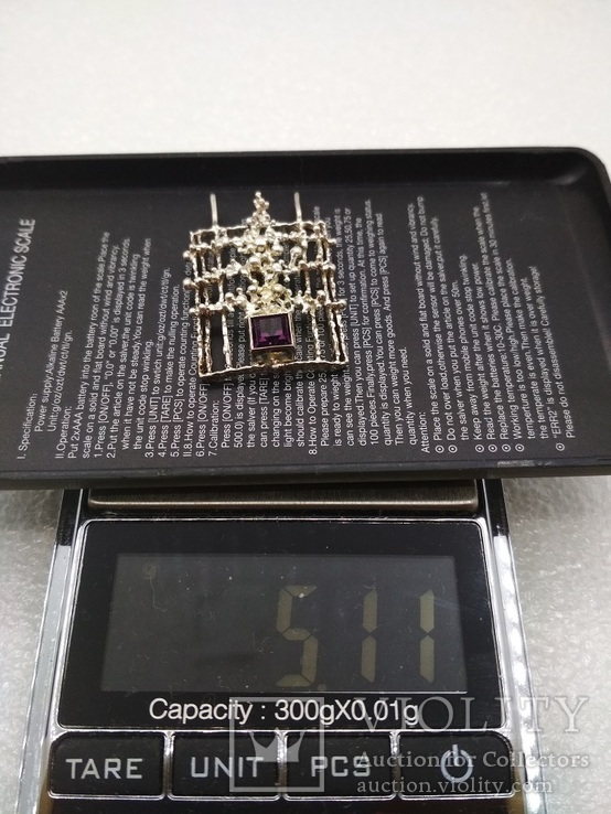 Кулон серебро 835 Kordes & Lichtenfels 50 - 60 е, фото №6