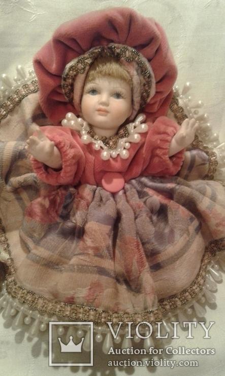 Две фарфоровые Венецианские куклы  Италия, фото №9