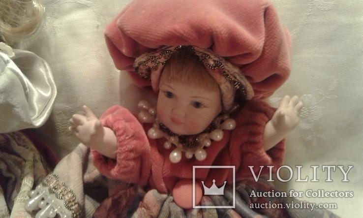Две фарфоровые Венецианские куклы  Италия, фото №13