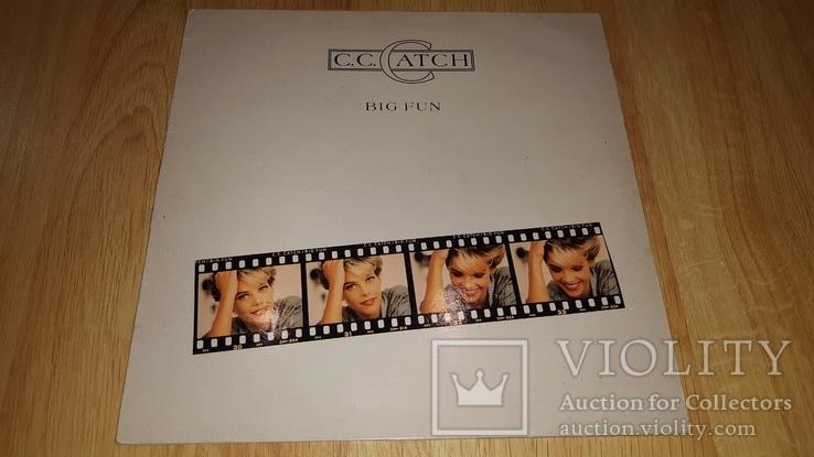C.C. Catch (Big Fun) 1988. (LP). 12. Vinyl. Пластинка. Germany., фото №2