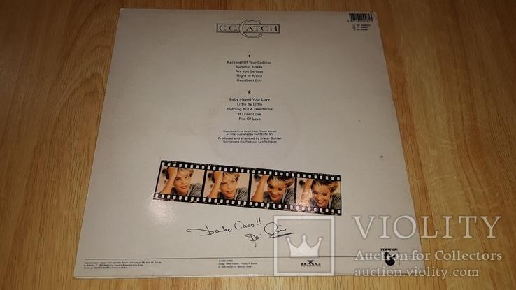 C.C. Catch (Big Fun) 1988. (LP). 12. Vinyl. Пластинка. Germany., фото №3