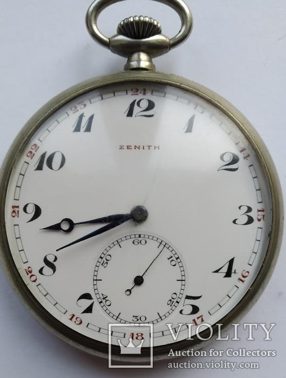 Часы  карманные Zenith, фото №2