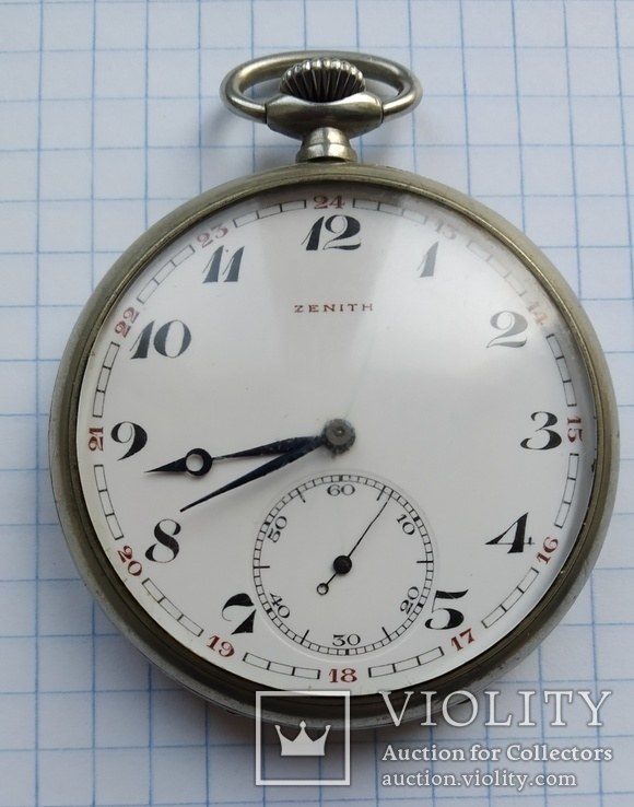 Часы  карманные Zenith, фото №3